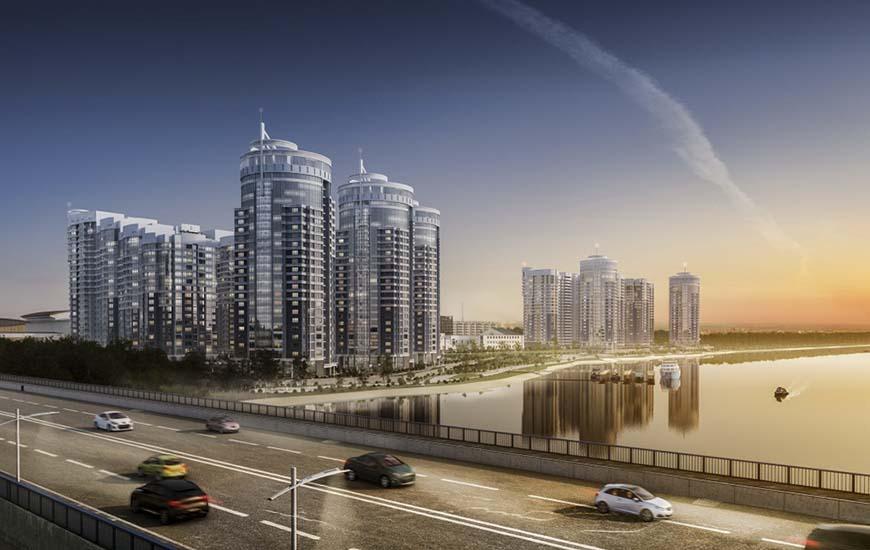 Строительство жилых многоэтажных домов вблизи водоемов