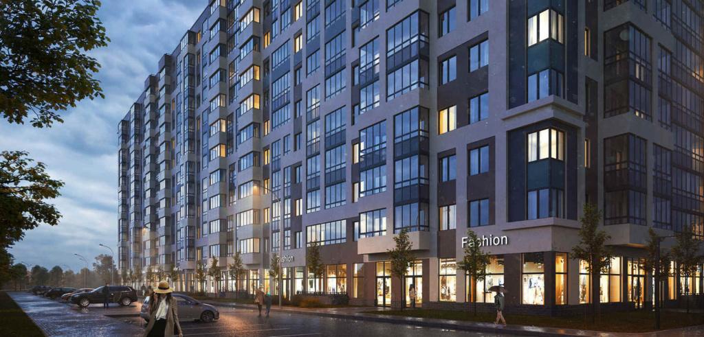 Жилая недвижимость в новых домах Кудрово