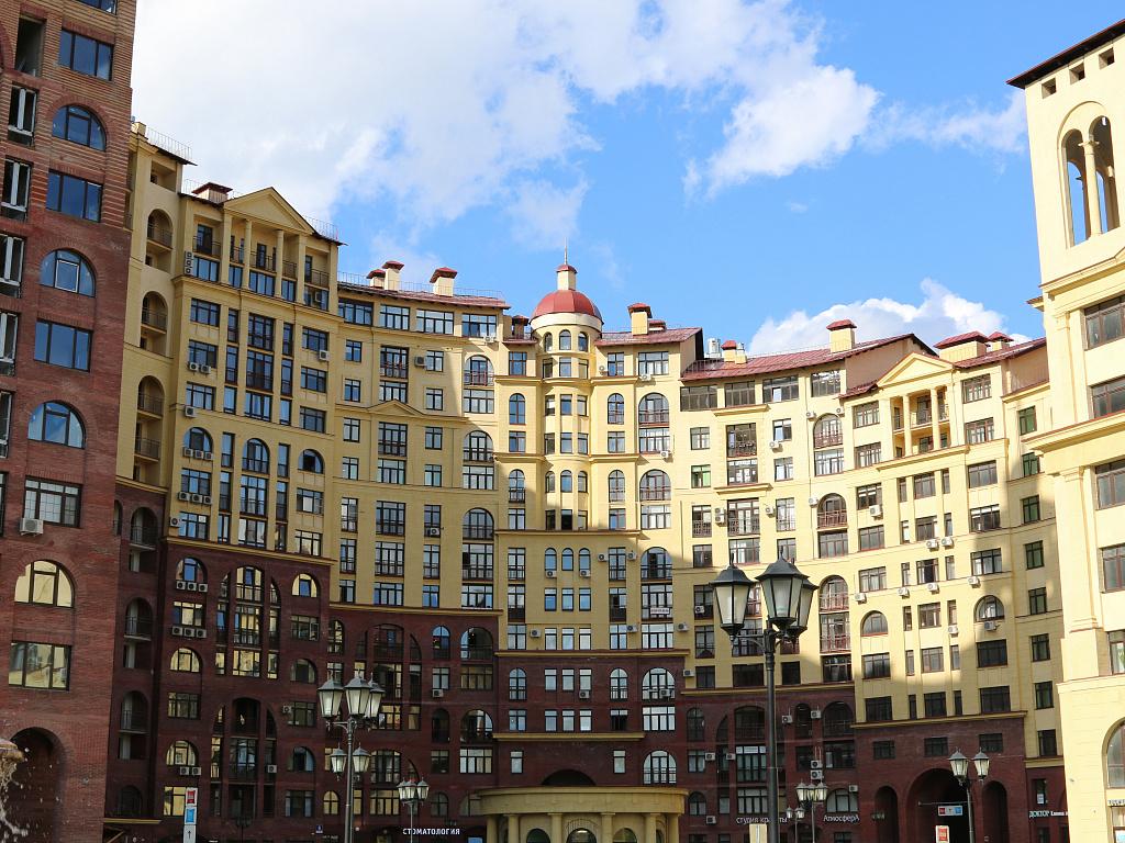новостройка маршала в москве фото